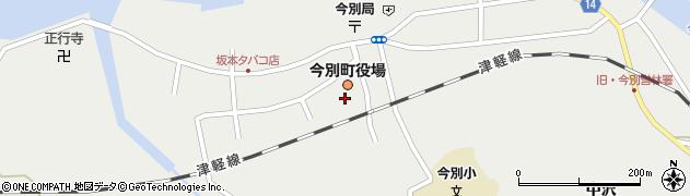 青森県東津軽郡今別町周辺の地図