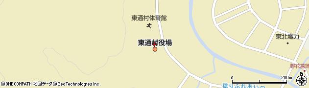青森県東通村(下北郡)周辺の地図