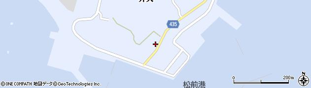 北海道松前郡松前町弁天周辺の地図