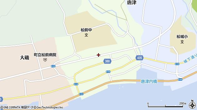 〒049-1505 北海道松前郡松前町博多の地図