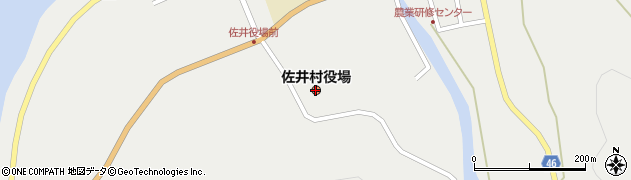 青森県佐井村(下北郡)周辺の地図