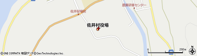青森県下北郡佐井村周辺の地図