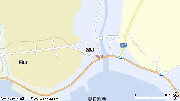 〒049-1517 北海道松前郡松前町朝日の地図