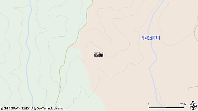 〒049-1507 北海道松前郡松前町西館の地図