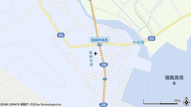 〒049-1312 北海道松前郡福島町本町の地図