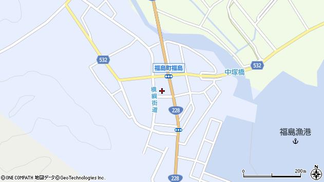 〒049-1312 北海道松前郡福島町川原町の地図