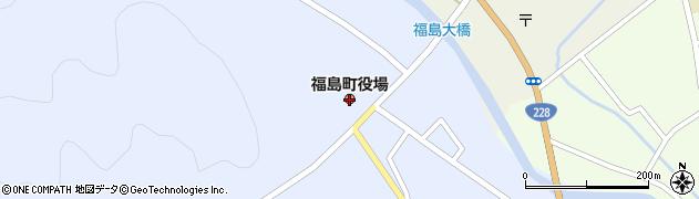 北海道福島町(松前郡)周辺の地図
