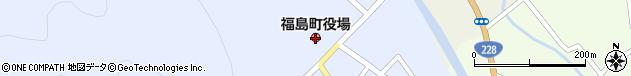 北海道松前郡福島町周辺の地図