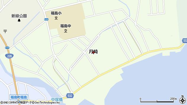 〒049-1321 北海道松前郡福島町月崎の地図