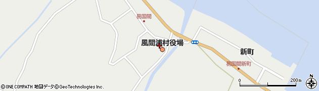 青森県風間浦村(下北郡)周辺の地図