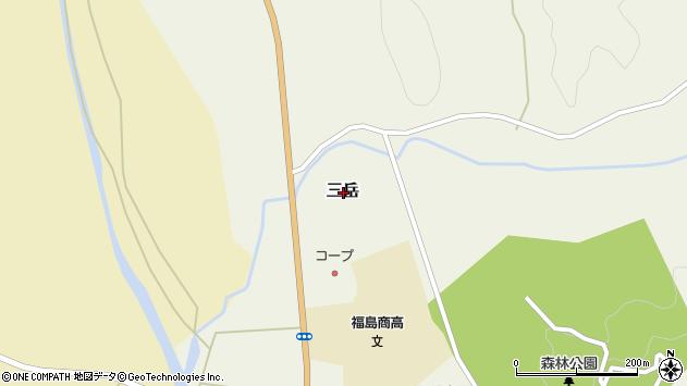 〒049-1331 北海道松前郡福島町新栄町の地図