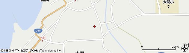 青森県下北郡大間町周辺の地図