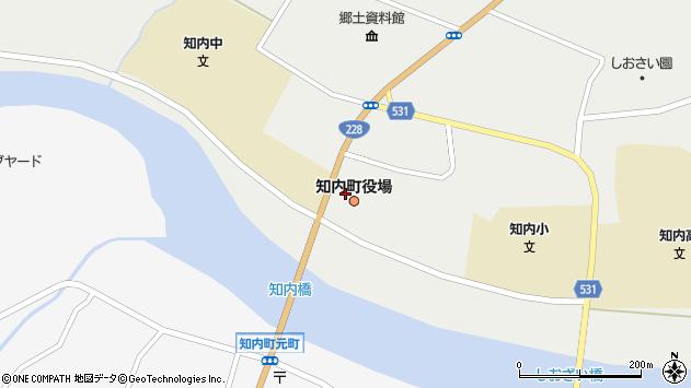 〒049-1100 北海道上磯郡知内町(以下に掲載がない場合)の地図