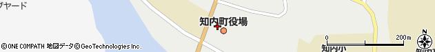 北海道上磯郡知内町周辺の地図
