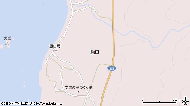 〒049-1762 北海道松前郡松前町原口の地図