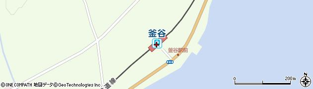 北海道上磯郡木古内町周辺の地図