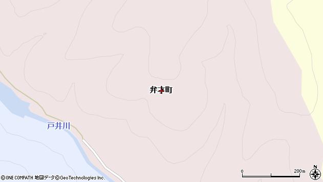 〒041-0303 北海道函館市弁才町の地図