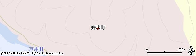北海道函館市弁才町周辺の地図