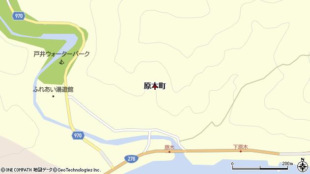 〒041-0313 北海道函館市原木町の地図