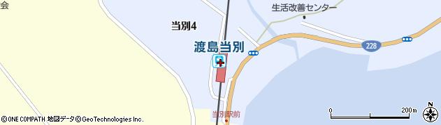 北海道北斗市周辺の地図