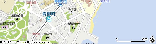 湯殿山新注連寺周辺の地図