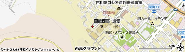 船魂神社周辺の地図