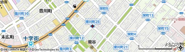 東川町25周辺の地図