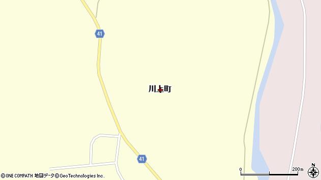 〒041-0405 北海道函館市川上町の地図