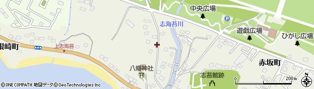 北海道函館市志海苔町周辺の地図