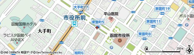 若松町1周辺の地図