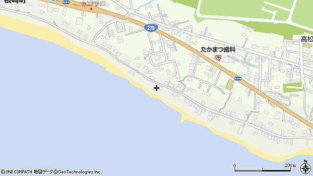 〒042-0924 北海道函館市根崎町の地図
