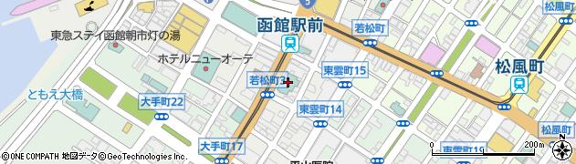 北海道函館市若松町6-3 住所一覧から地図を検索|マピオン