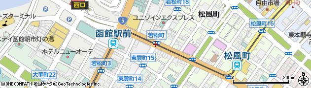 松風町7周辺の地図