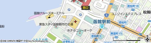 北海道函館市若松町 住所一覧から地図を検索|マピオン