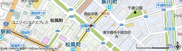 千歳町9周辺の地図