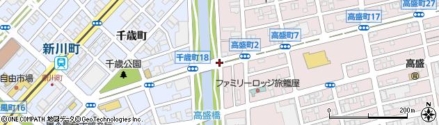 高盛町2周辺の地図