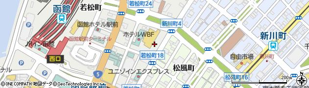北海道函館市若松町25 住所一覧から地図を検索|マピオン