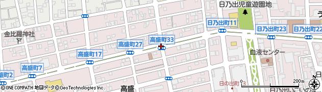 高盛町33周辺の地図