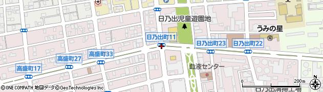 日乃出町17周辺の地図
