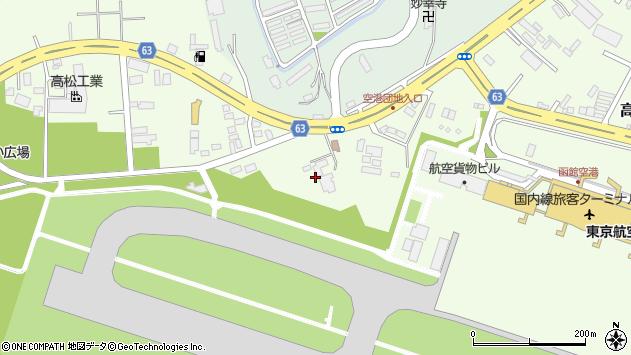 〒042-0952 北海道函館市高松町の地図