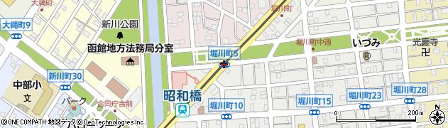 堀川町5周辺の地図