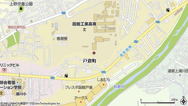 〒042-0953 北海道函館市戸倉町の地図