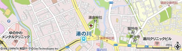 湯倉神社周辺の地図