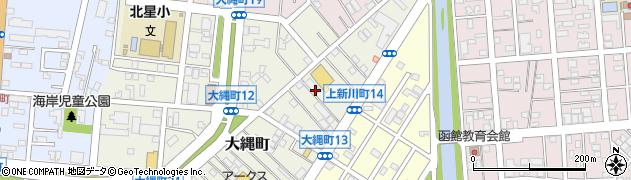 北海道函館市大縄町周辺の地図