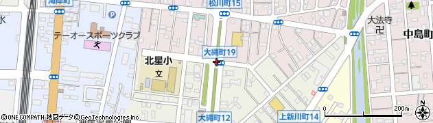 大縄町20周辺の地図