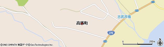 北海道函館市高岱町周辺の地図