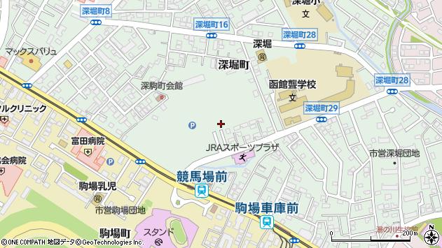 〒042-0941 北海道函館市深堀町の地図