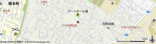 北海道函館市上野町周辺の地図