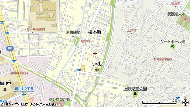 〒042-0931 北海道函館市榎本町の地図