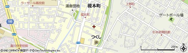 北海道函館市榎本町周辺の地図